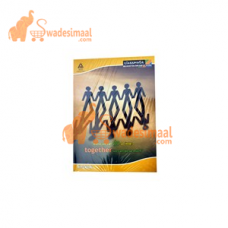 Classmate A4 Notebook Unruled,148 Pages, Pack of 6 U