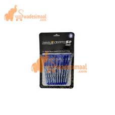 Classmate Ball Pen Crypto Zip Blue, Pack of 10 U