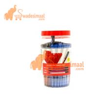 Nataraj 621Ball Pens Classic Fine, Jar of 100 Pens