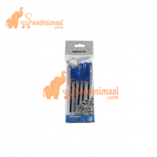 Nataraj Gel Pen Gelix, Available in Blue and Black