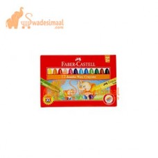 Faber Castell Wax Crayon Jumbo12 Colors