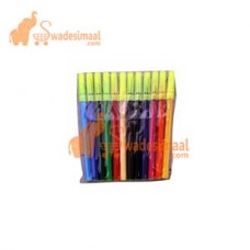 Kokuyo CamlinSketch Pens12 Assorted Colors