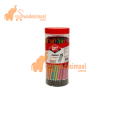 Right Buy HB Pencil Assorted Body Color Jar