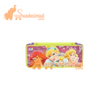 Ski Pencil Box With Stationery