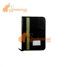 Worldone Portfolio-PU With Zipper, 20 Leaves