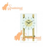 Ajanta Wooden Pendulum Clock (7527)