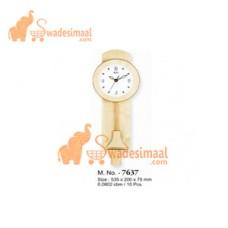Ajanta Wooden Pendulum Clock (7637)