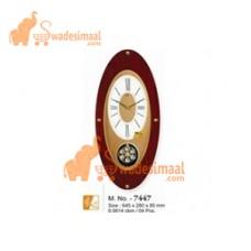 Ajanta Wooden Pendulum Clock,(7447)