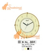 Ajanta Plain Clock (331)