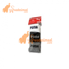 Puma Sports Socks Ankle Length, Pack Of 3 U