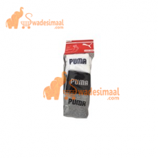 Puma Sports Socks Full Length, Pack Of 3 U
