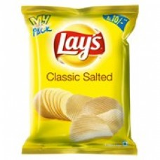 Lays Chips Classic Salted, Ladi Pack Of 10 X Rs. 10