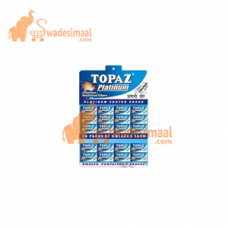 Topaz Blade Platinum, Pack of 20 X 5 U each