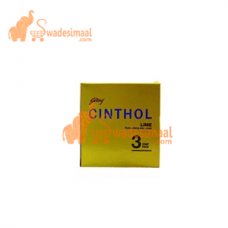 Cinthol Soap Lime, Pack Of 3 U X 120 g