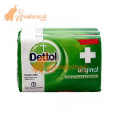 Dettol Soap Original, Pack Of 3 U X 125 g