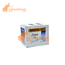 Dove Soap Moisturizing Cream, Pack OF 3 U X 100 g