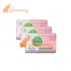 Dettol Skincare Soap, Pack Of 3 U X 125 g