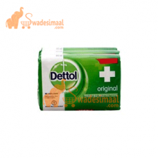 Dettol Original Soap, Pack Of 3 U X 125 g