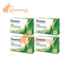Himalaya Neem & Turmeric Soap Pack of 4 X 75 g