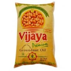 Vijaya Groundnut Oil  premium 1Litre