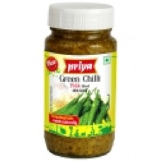 Green Chilli in Mustard Oil 300gms