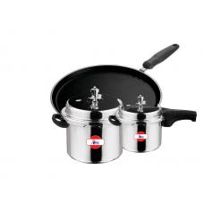 Apex 5L Pressure Cooker,3L Pressure Cooker,300MM Tawa Combo