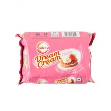 Sunfeast Dream Cream Strawberry Vanila, 150 G