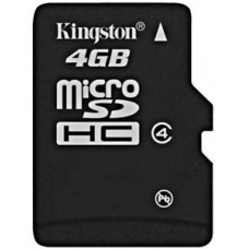 Kingston Class 4 4GB Memory Card