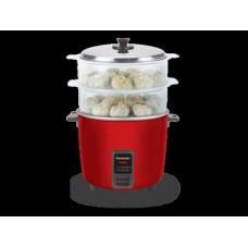 Panasonic SR-WA18H(SS) 1.8-Litre 660-Watt Automatic Rice & Momo Cooker